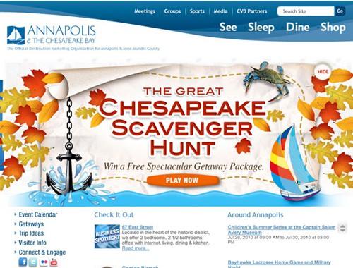 Annapolis Tourism Website