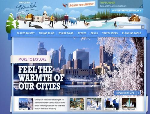 Explore Minnesota Website