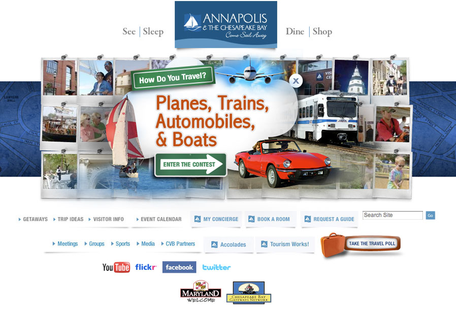 Annapolis Tourism Website