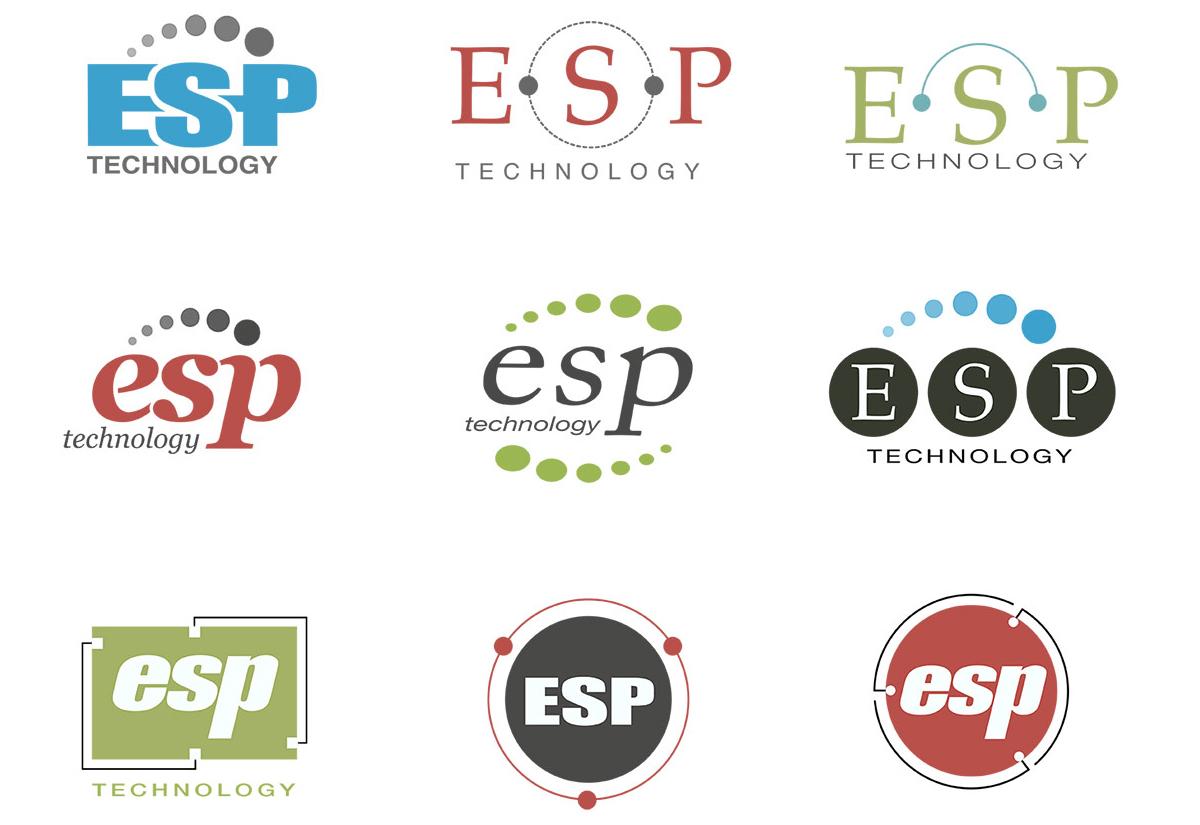 ESP Technology Logo Studies