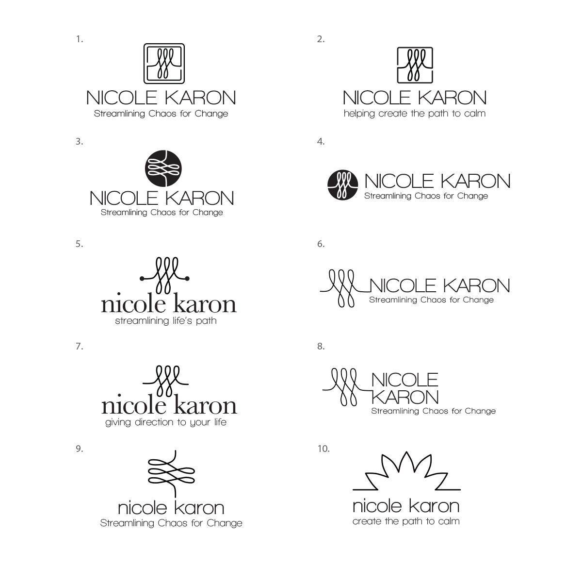 Nichole Karon Logo Ideas