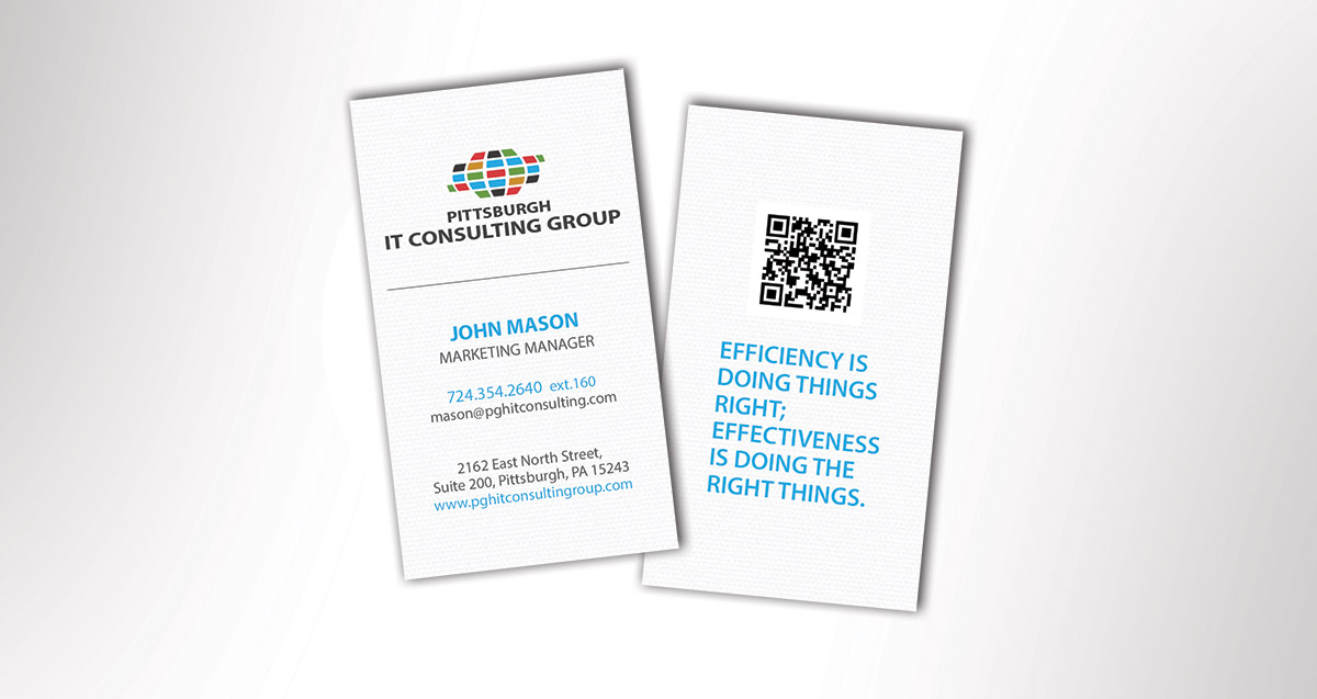 Pittsburgh IT Consulting Group Business Card