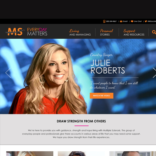 National Multiple Sclerosis Society – Everyday Matters