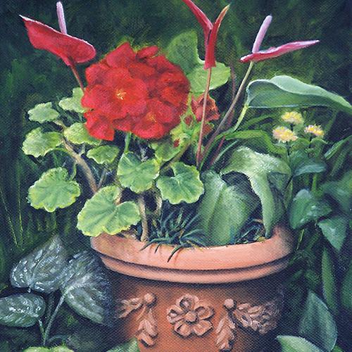 Scarlet Geraniaum