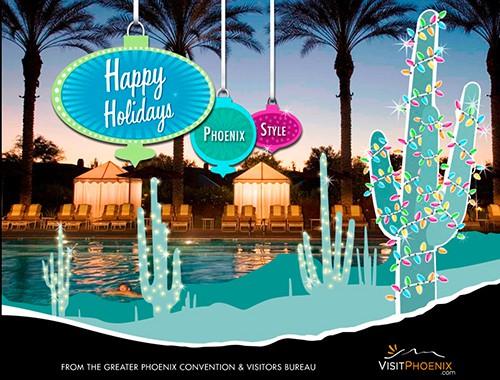Visit Phoenix Holiday Card