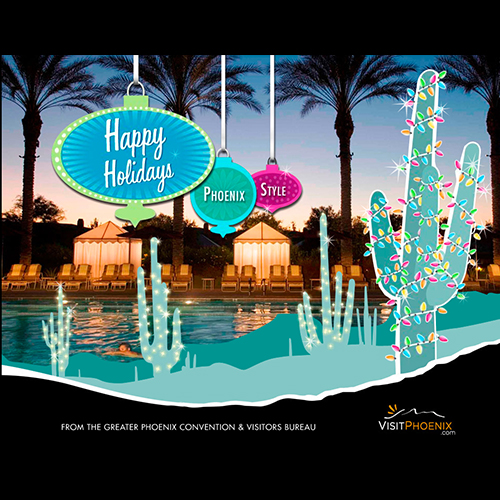 Visit Phoenix Holiday Card