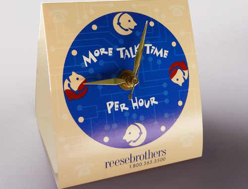 Reese Brothers Promo Clock