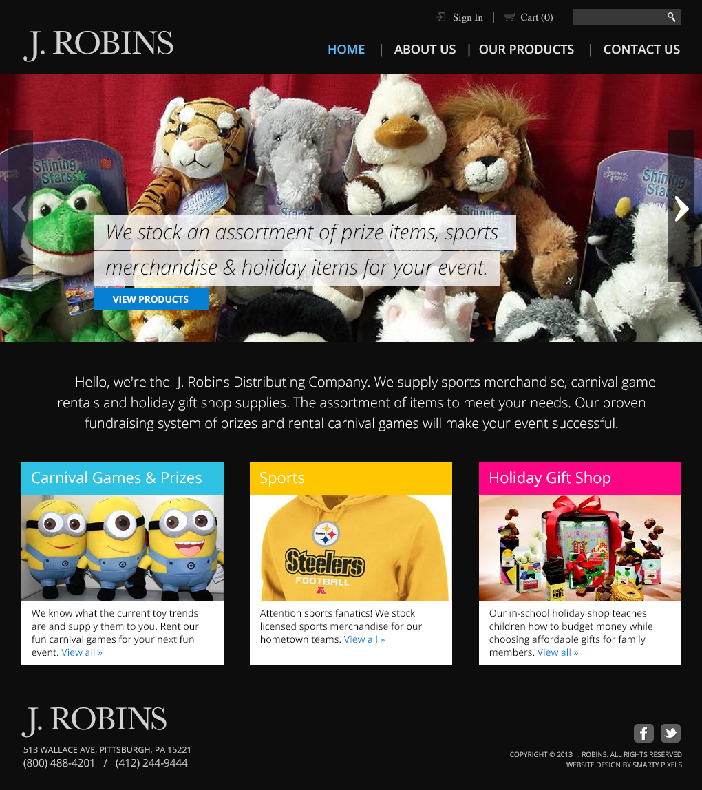 J. Robins - Homepage