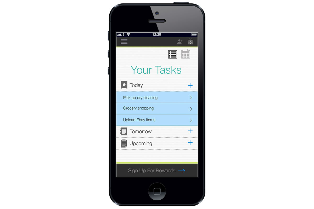 Check It Personal Task Manager – Today's Tasks
