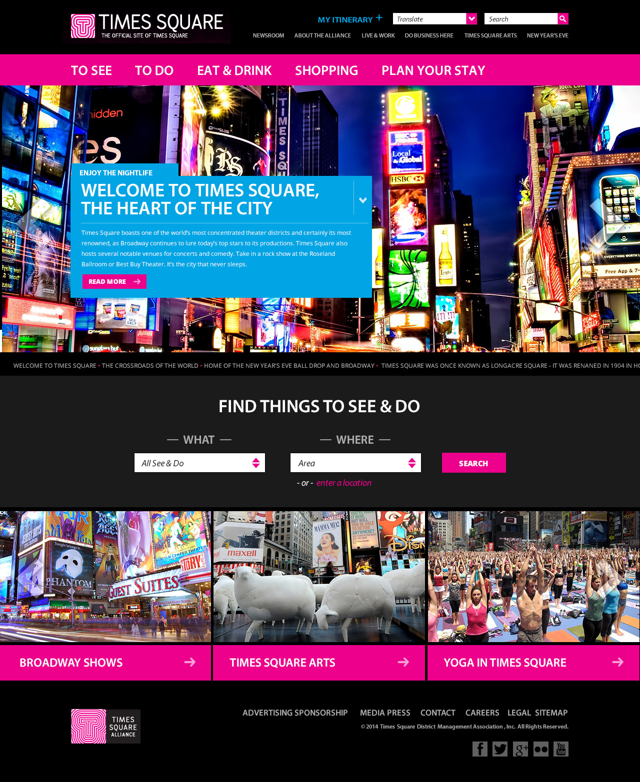 Times Square Alliance - Homepage