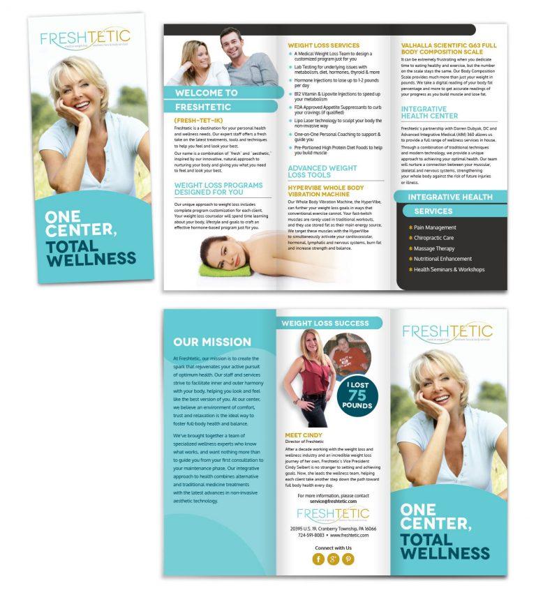 Freshtetic Tri-Fold Brochure