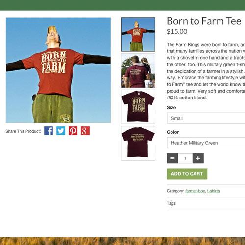 Freedom Farms E-Commerce