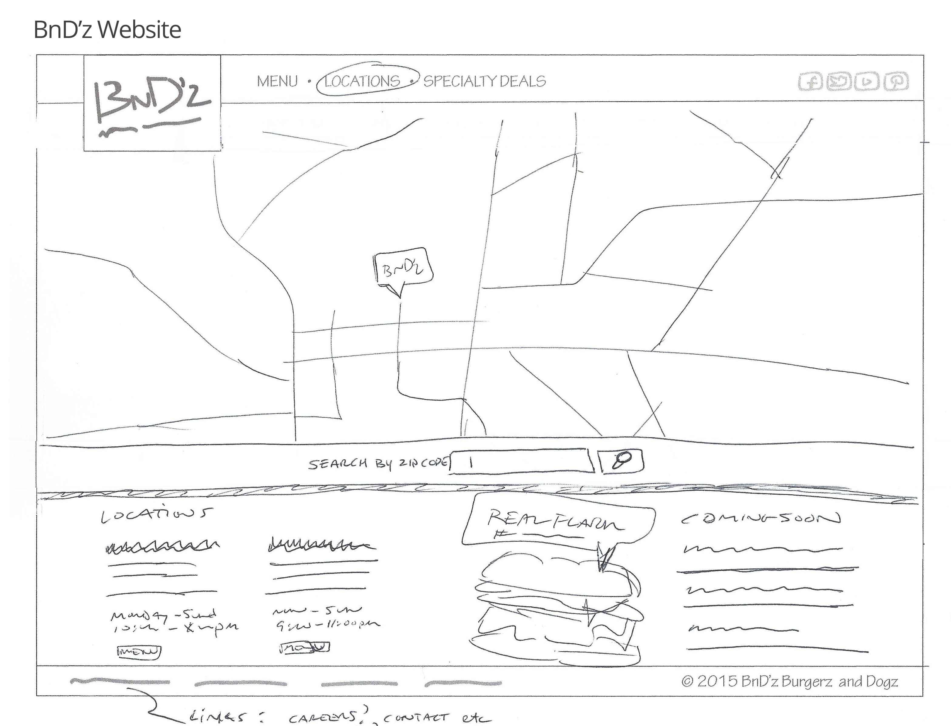 BnDz Website Sketch