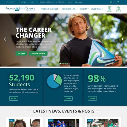 Florida State College at Jacksonville Website